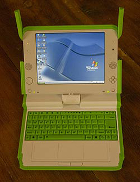 OLPC XO e Windows XP