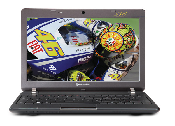 Packard-Bell Dot VR46 il netbook di Valentino Rossi