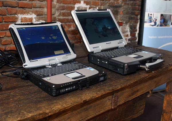 Panasonic Toughbook CF-19 e CF-31 affiancati