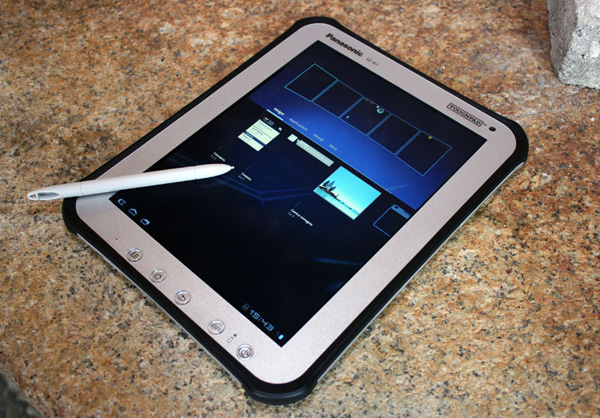 Il tablet Android Panasonic Toughpad FZ-A1