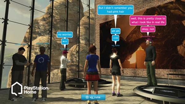 Nasce playstation home il mondo virtuale per sony for Gioco arredare casa virtuale