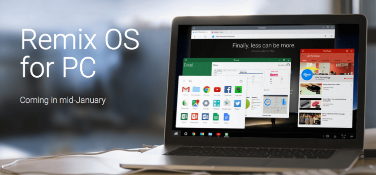 Remix OS per qualsiasi PC x86