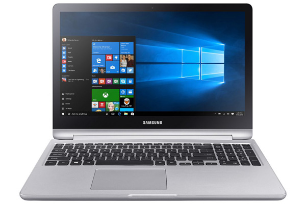 Samsung Notebook 7 Spin, convertibile 2-in-1 con Windows 10