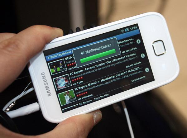 Samsung galaxy player 50 da dicembre in italia notebook - Lettore file mp4 ...