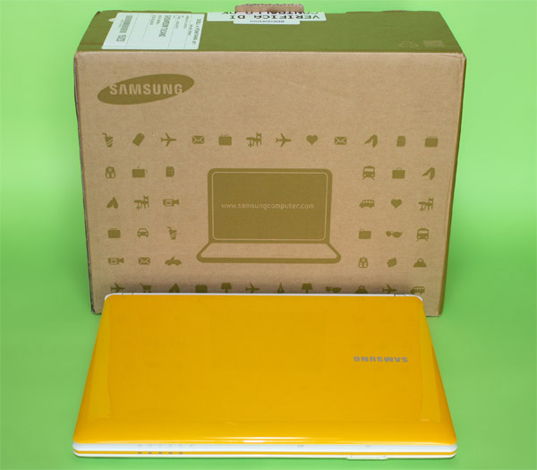 Samsung N150 Corby giallo unbox
