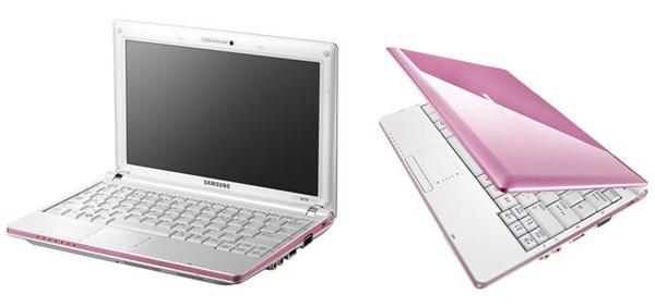 Samsung NC10 rosa