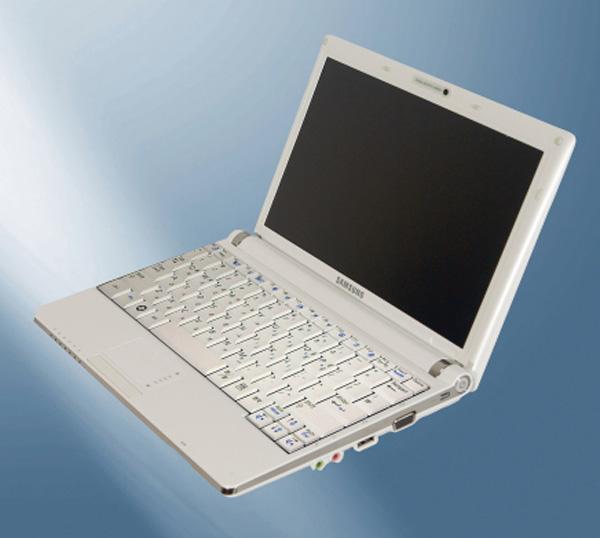 Samsung NC11 netbook tre quarti