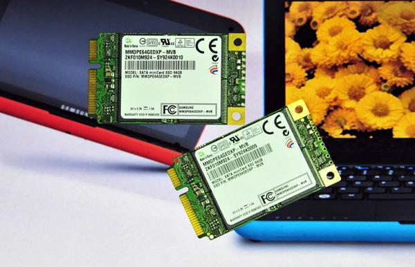 Samsung SSD mini card