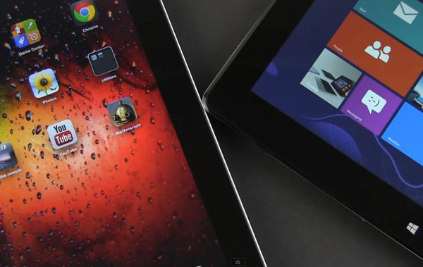 ASUS Vivo Tab Smart vs iPad