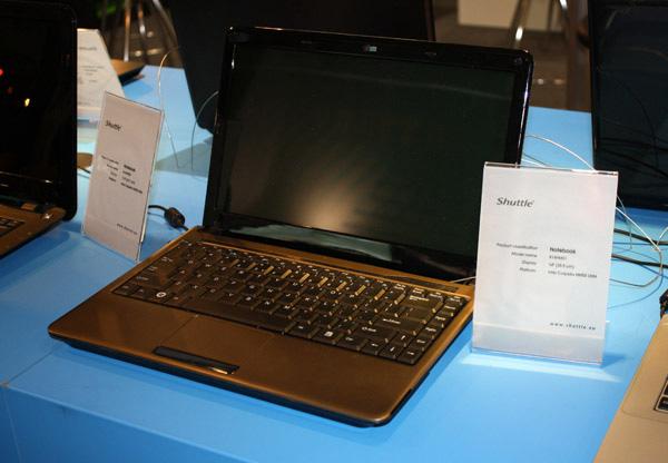 ... X3150, e il nettop XS35 equipaggiato con il chip ION2 di nVidia