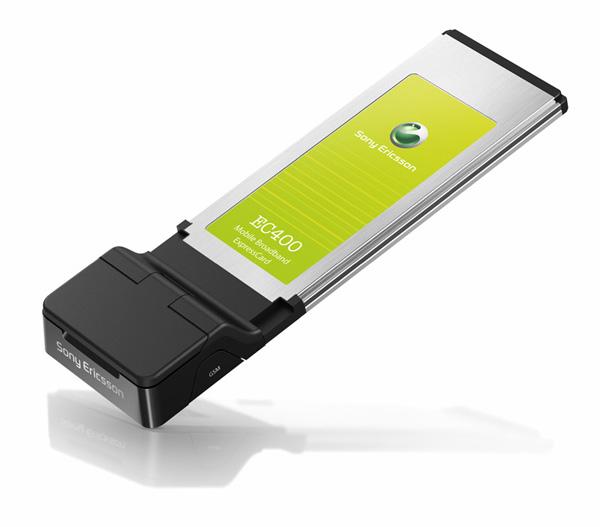 ExpressCard HSDPA Sony Ericsson