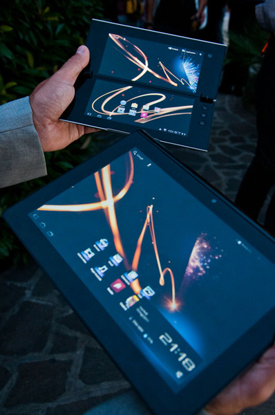 Sony Tablet in Italia
