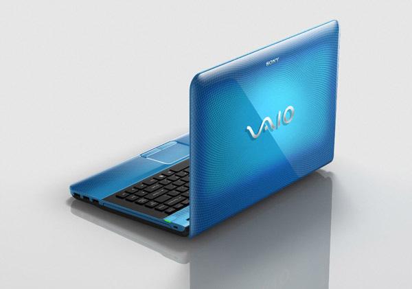 Notebook Sony VAIO Nuovi Colori E CPU