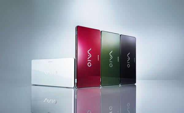 Sony Vaio P colori