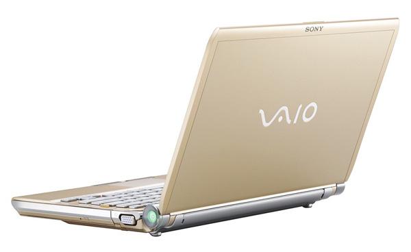 Sony VAIO TT11 oro