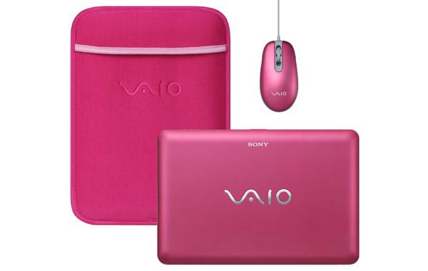 Sony Vaio W11 rosa