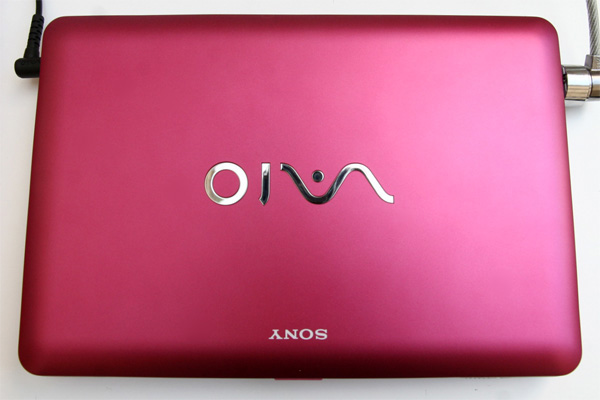 Cover Sony VAIO W Berry Pink