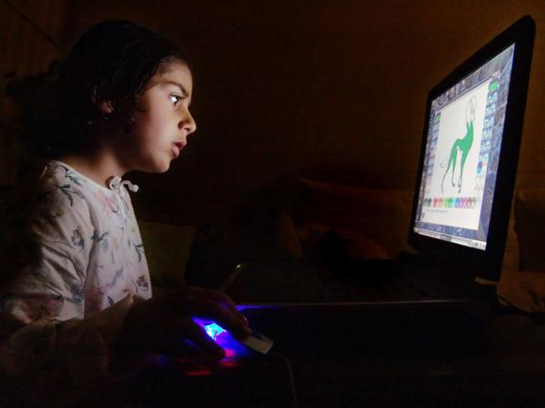 Adolescenti al computer