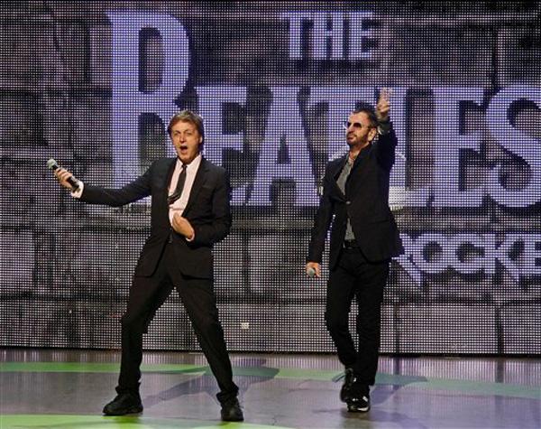 McCartney e Starr a E3 sul palco Microsoft