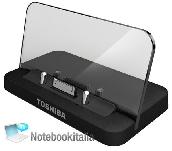 Dock e replicatore di porte per il tablet Toshiba