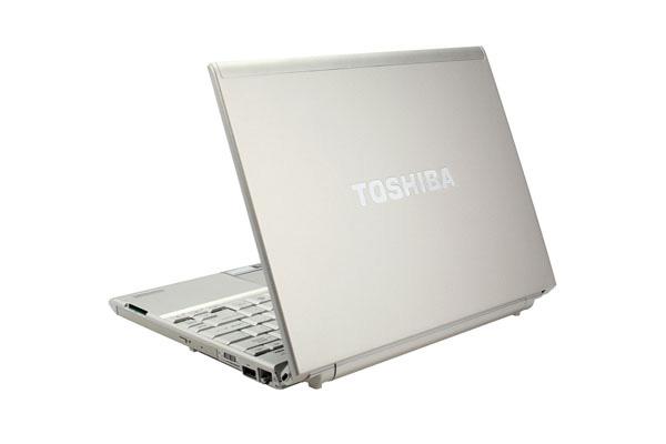 Toshiba Portege R500 design