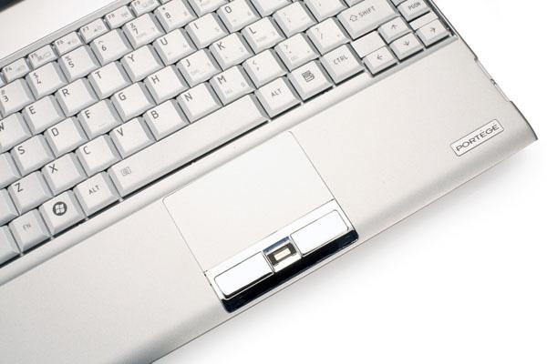 Toshiba Portege R500 touchpad