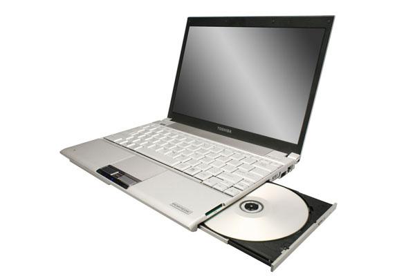Toshiba Portege R500 drive ottico integrato