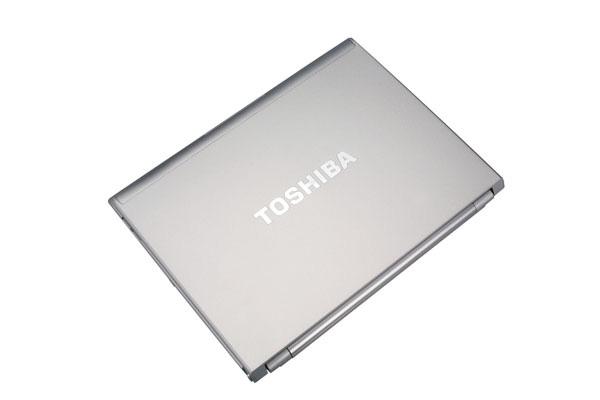 Toshiba Portege R500 dorso