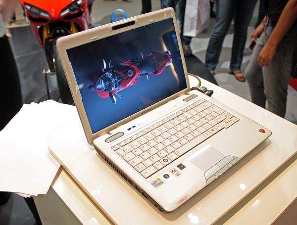 Toshiba Satellite U500 Ducati
