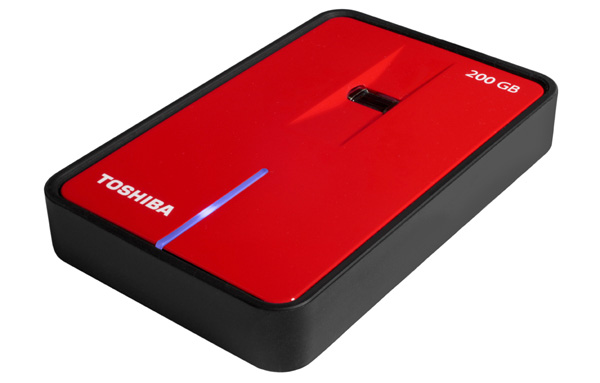 Toshiba SecuRed hard disk esterno