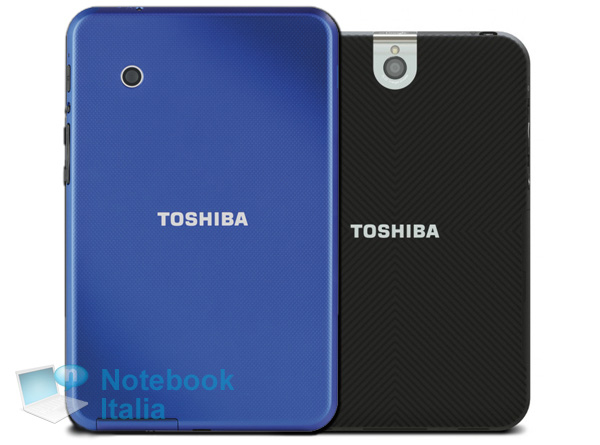 Cover dei due tablet da 7 pollici di Toshiba