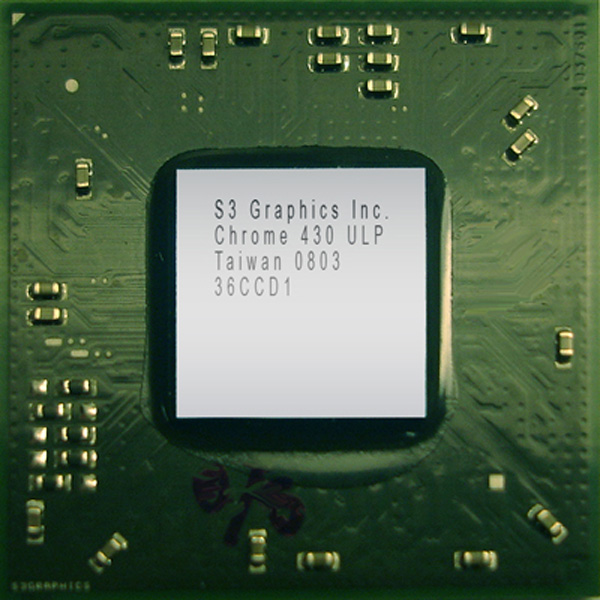 S3 Graphics Chrome 430 ULP