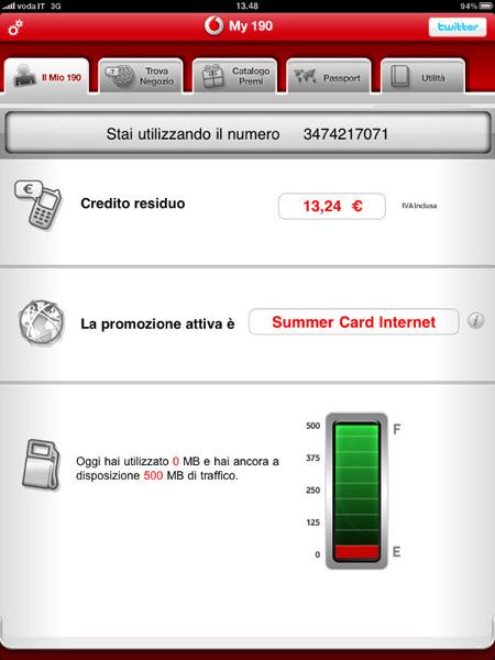Credito Saldo Vodafone - esonmeazo