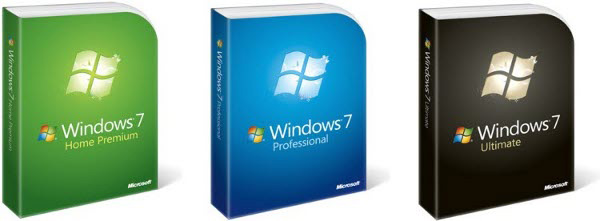 Windows 7 Family packages