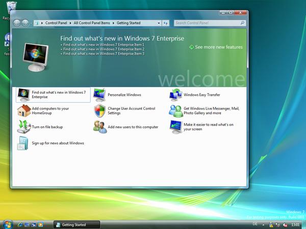 Windows 7 sceenshot