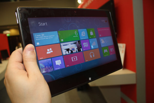 Windows 8 RT su tablet Texas Instruments