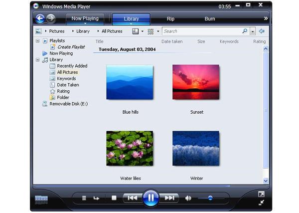 Media Player picture windows media player jpg.