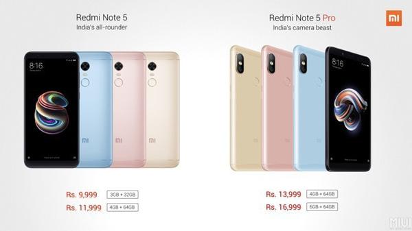 Xiaomi Redmi Note 5 ufficiale: le novità