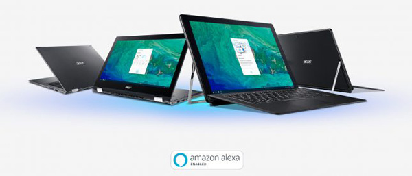 Amazon Alexa sui notebook Acer