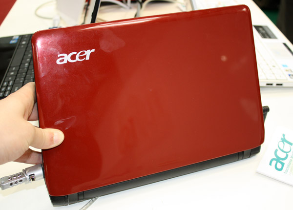 Acer Aspire One 752 cover rossa