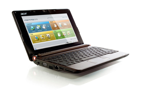 Aspire One brown di Acer