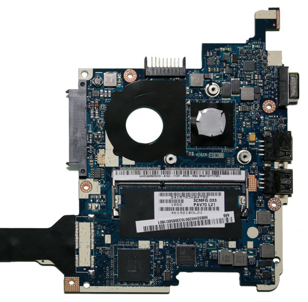 Processore Intel Atom N550 dual-core su Acer Aspire One Happy o D255