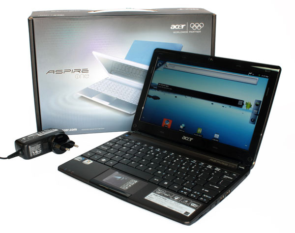 Unboxing dell'Aspire One D257