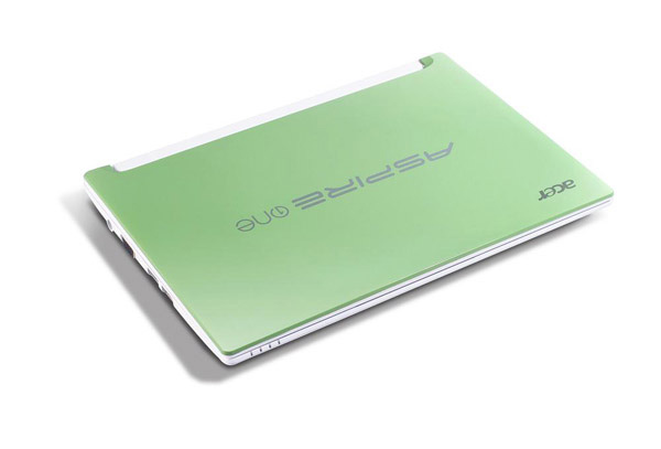Acer Aspire One Happy chiuso