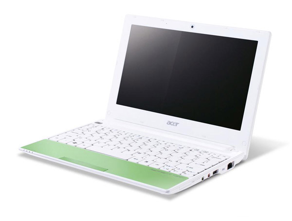 Acer Aspire One Happy aperto