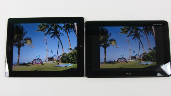 Acer Iconia Tab A700 vs iPad 3