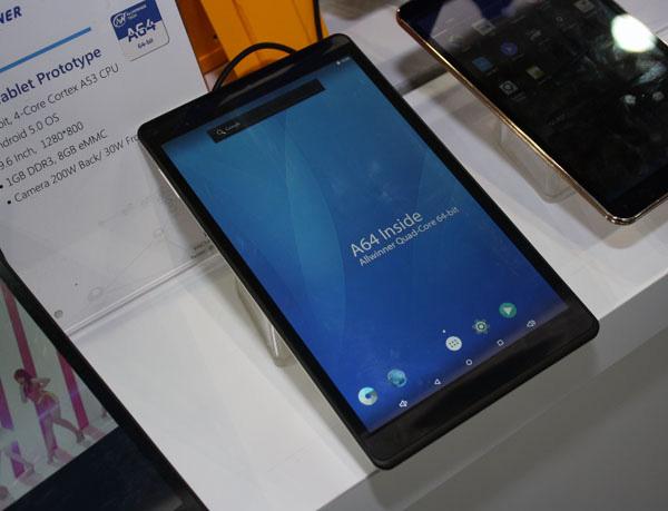 Ecco il primo tablet con Allwinner A64 (Mali 400), il SoC da 5