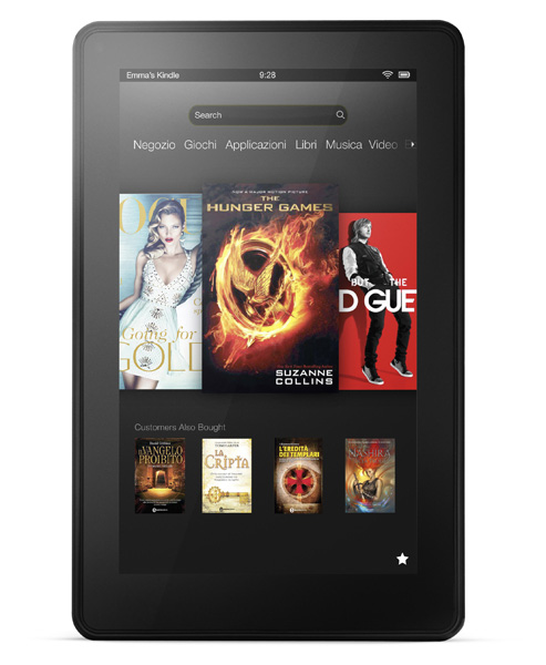 Nuovo tablet economico amazon Kindle Fire