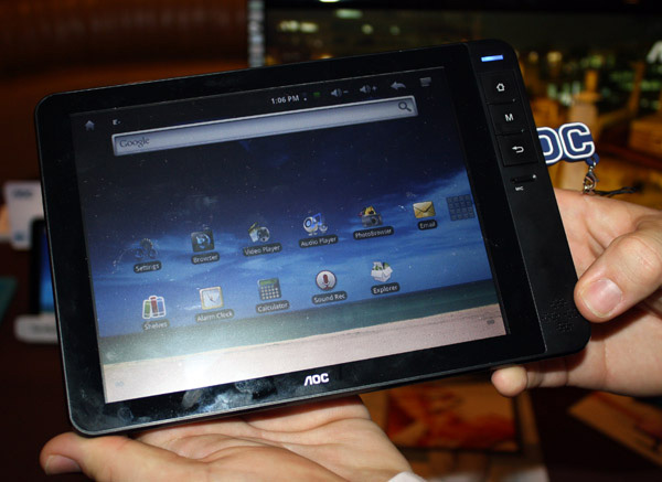 tablet AOC Breeze
