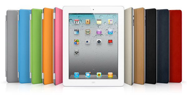 Apple iPad 2 con cover colorate